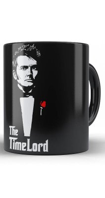 Caneca Doctor Who TimeLord