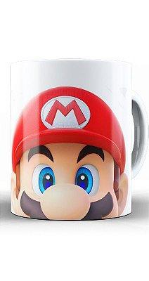 Caneca Super Mario Face