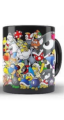 Caneca Super Mario e sua Turma