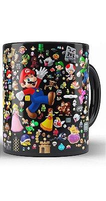 Caneca Super Mario Happy