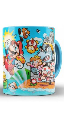 Caneca Super Mario BIG MUSHROOM