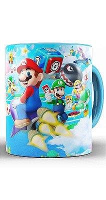 Caneca Super Mario in space