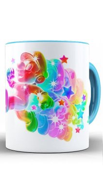 Caneca Super Mario Bright Star