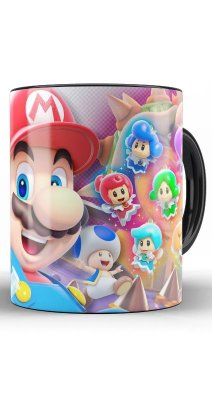 Caneca Mario and Fairy