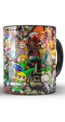 Caneca The legend of zelda Nintendo