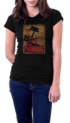 Camiseta Feminina Avec Arlequina