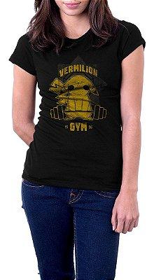 Camiseta Feminina Pikachu Vermilion