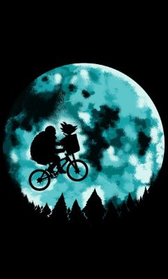 Camiseta Dragon Ball Movie E.T