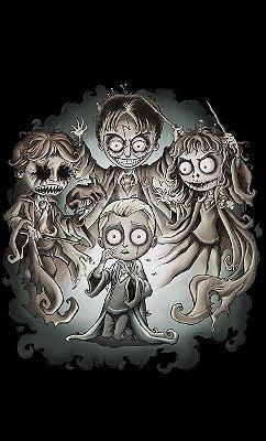 Camiseta O Estranho Mundo de Harry Potter