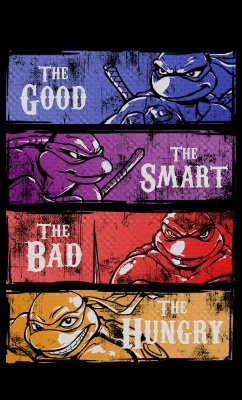 Camiseta The Good The Smart The Bad