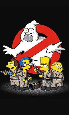Camiseta Simpsons Ghostbusters