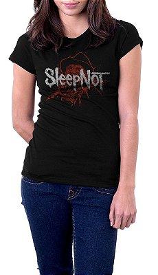 Camiseta Feminina Sleep Not