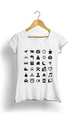 Camiseta Feminina Things Day Day