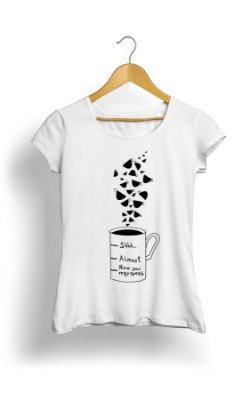 Camiseta Feminina Love Coffee