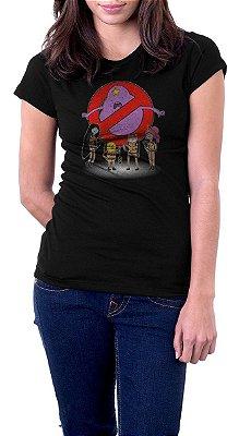 Camiseta Feminina Caça-Fantasmas