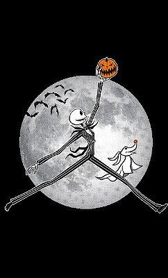 Camiseta Jack Skellington Halloween