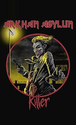 Camiseta Arkham Asylum Killer Joker