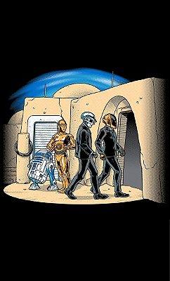 Camiseta Star Wars: R2-D2 C-3PO