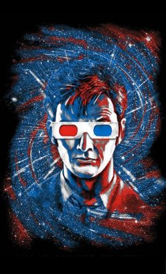 Camiseta Doctor Who 3D