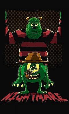 Camiseta Monstros S.A Nightmare