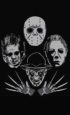 Camiseta Fred Krueger vs Jason