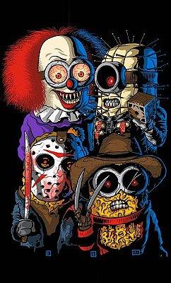 Camiseta Minions Horror