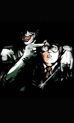 Camiseta Joker vs Harry Potter
