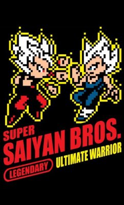 Camiseta Super Saiyan Bros.