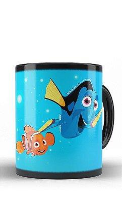 Caneca Nemo e Dory