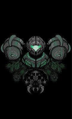 Camiseta  Metroid Samus Aran