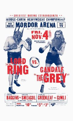 Camiseta Lord Ring VS Gandale The Grey