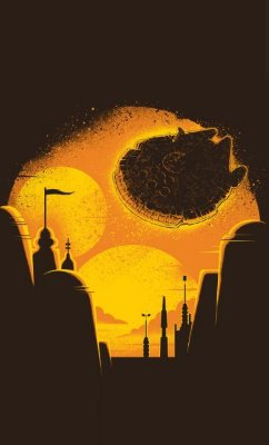 Camiseta Star Wars Space
