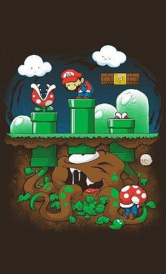 Camiseta Super Mario and Monster