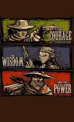 Camiseta The Courage The Wisdom and The Power
