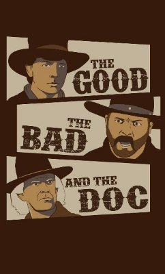 Camiseta The Good The Bad And The Doc