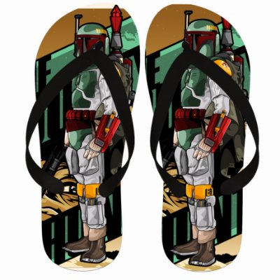 Chinelo Star Wars Boba Fett
