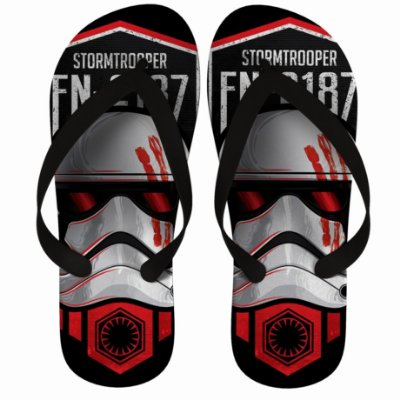 Chinelo Stormtrooper Star Wars FN-2187