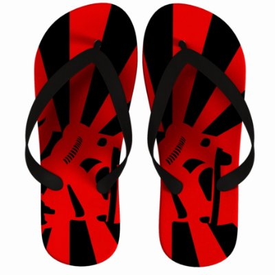 Chinelo Stormtrooper Star Wars Listras