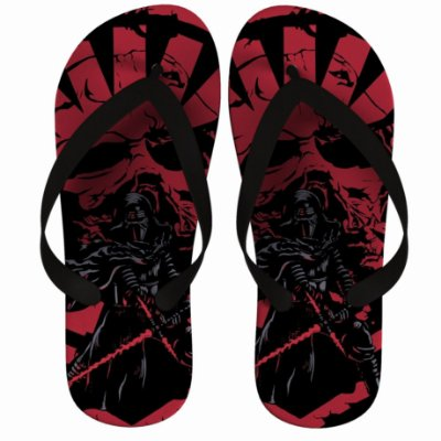 Chinelo Darth Vader War Star Wars Red