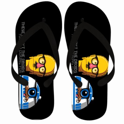 Chinelo  Star Wars R2-D2 e C-3PO