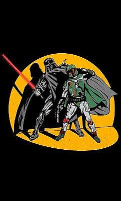 Camiseta Darth Vader E Boba Fett
