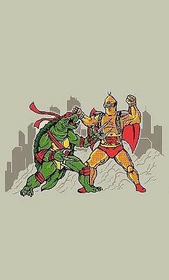 Camiseta Teenage Mutant Ninja