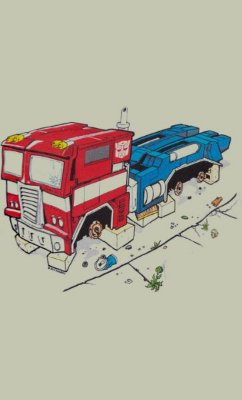 Camiseta Optimus Prime