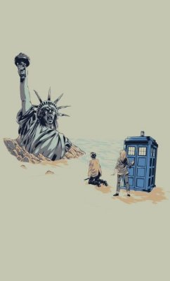 Camiseta Doctor Who Planet of the Apes