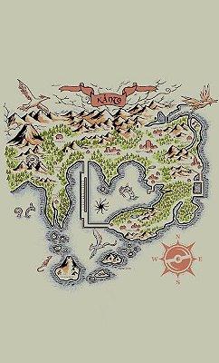 Camiseta Map