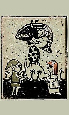 Camiseta  The Legend of ZeldaBallad of the Wind Fish