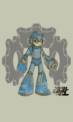 Camiseta  Mega Man Gaming