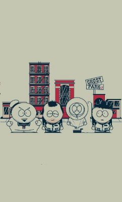 Camiseta South Park  Ghostbusters