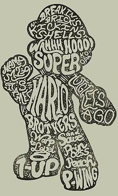 Camiseta Super Mario Gigant