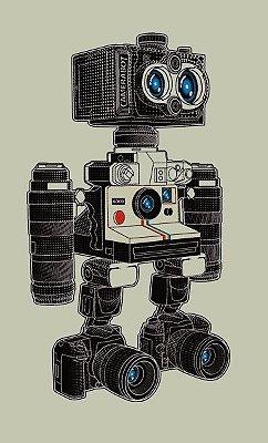 Camiseta Camera Bot